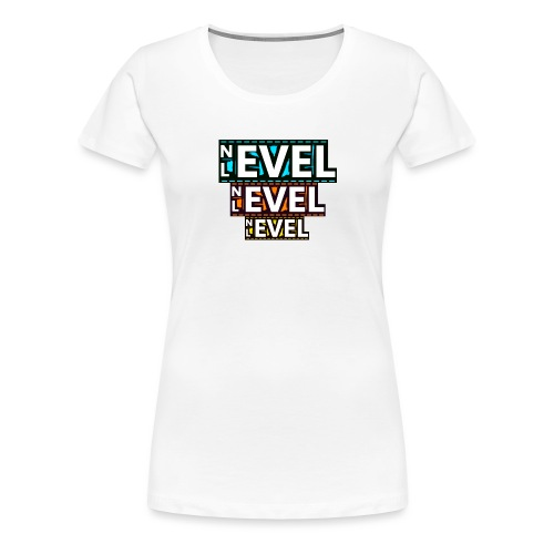 Nevel Level 3 colours - Women's Premium T-Shirt