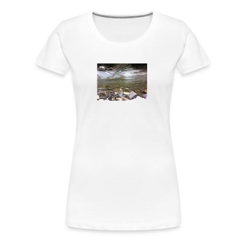 Bergbach2 - Frauen Premium T-Shirt