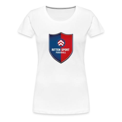 Wappen Fussball Ritten - Frauen Premium T-Shirt
