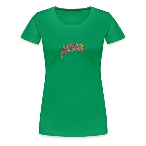 Time for a lucky jump - Women's Premium T-Shirt