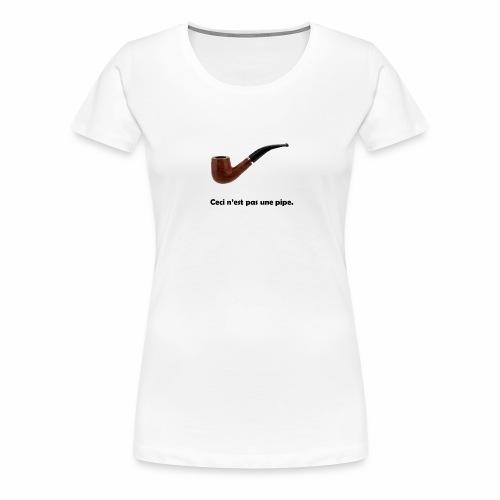 pipe - T-shirt Premium Femme