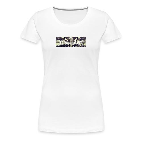 Commuter Design - Women's Premium T-Shirt