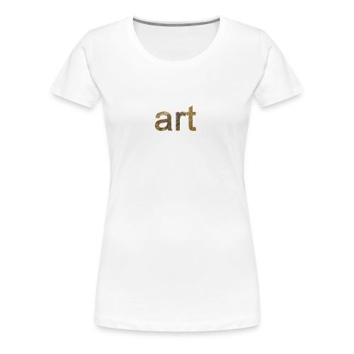art - T-shirt Premium Femme