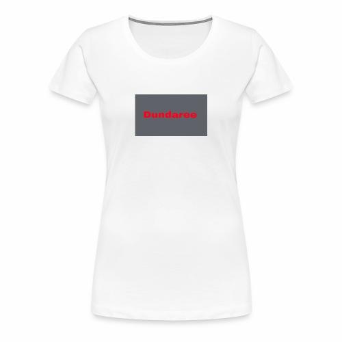 red dundaree t-shirt - Women's Premium T-Shirt