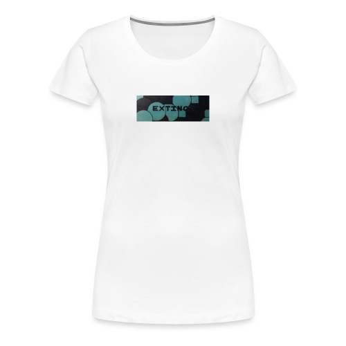 Extinct box logo - Women's Premium T-Shirt
