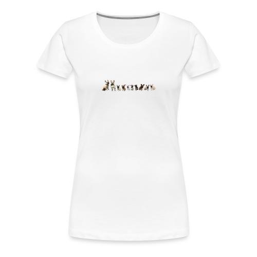Bouledogue - T-shirt Premium Femme