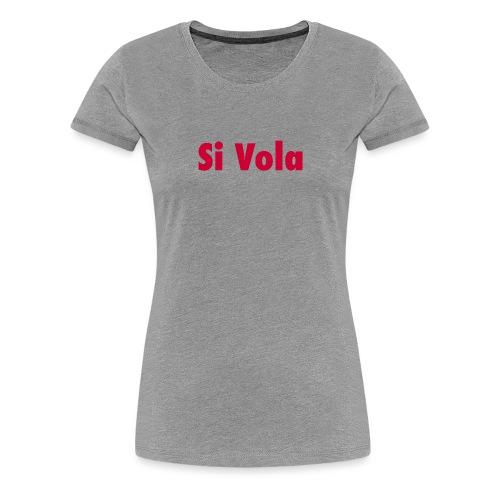 SiVola - Maglietta Premium da donna