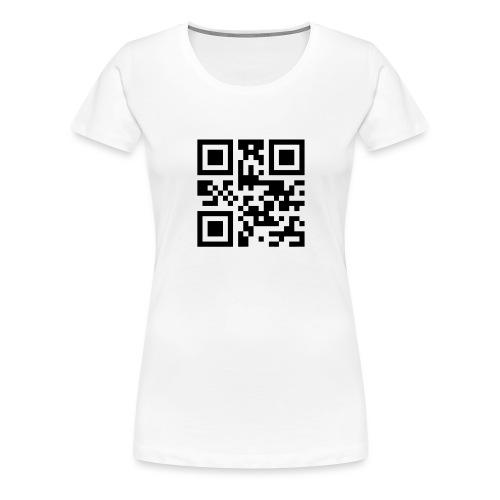 Sono Single QR Code - Maglietta Premium da donna