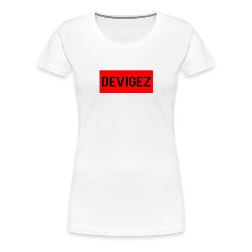 devigez original - Premium-T-shirt dam