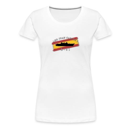 LHD Juan Carlos I - Camiseta premium mujer