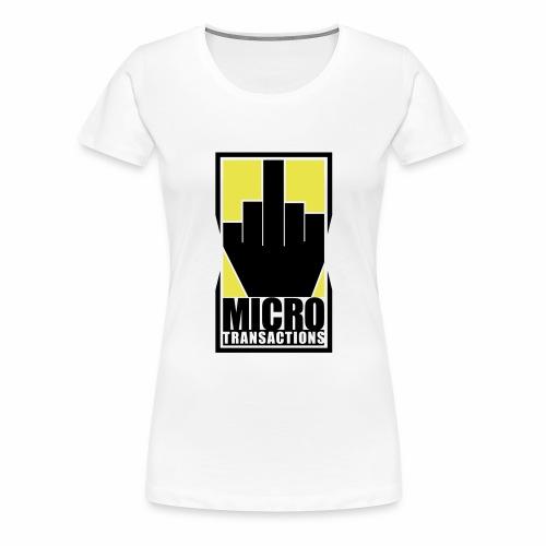 Micro Transactions - Women's Premium T-Shirt