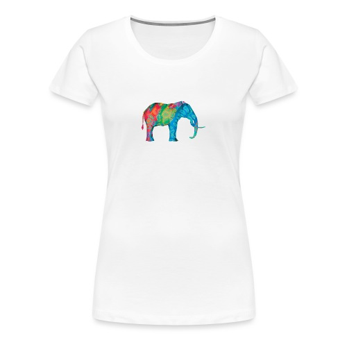 Elefant - Women's Premium T-Shirt