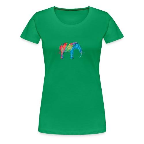 Elefant - Women's Premium T-Shirt