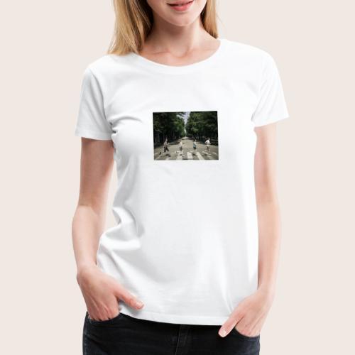 abbey road jpg - Frauen Premium T-Shirt