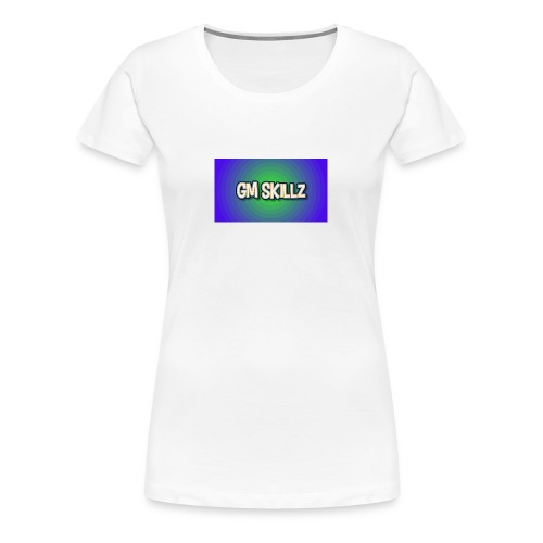 Gm skillz - Premium-T-shirt dam