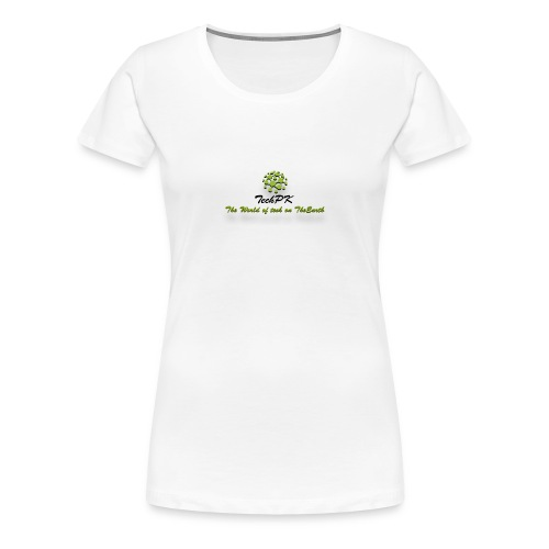 TechPK Branded T-Shirt - Women's Premium T-Shirt