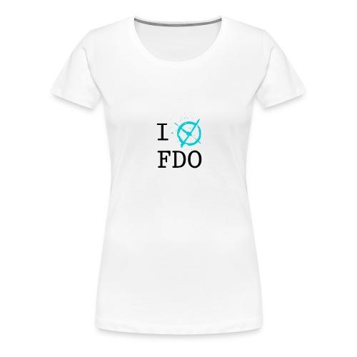 I X FDO - Women's Premium T-Shirt