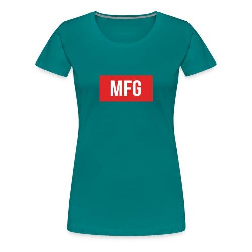 MFG on Youtube Logo - Women's Premium T-Shirt