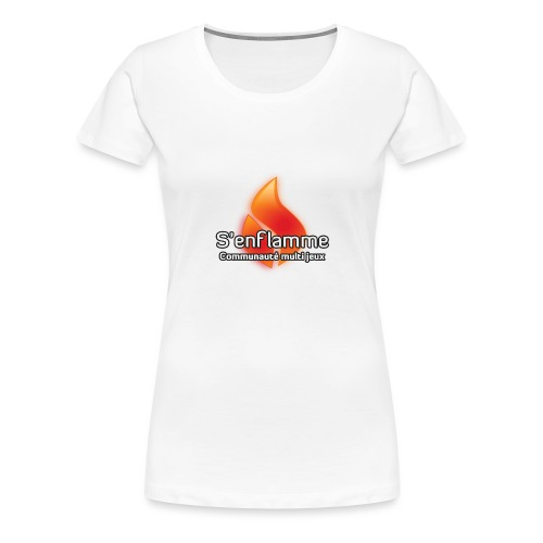 Logo Communauté - T-shirt Premium Femme