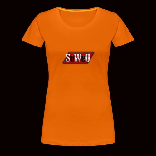 SoWeQ Navneskilt - Dame premium T-shirt