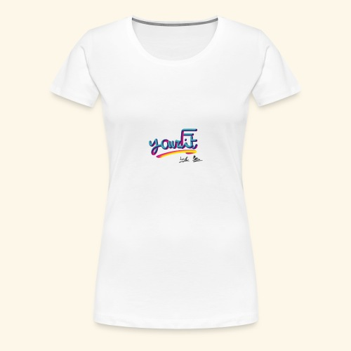 YourFit's Logo - Maglietta Premium da donna