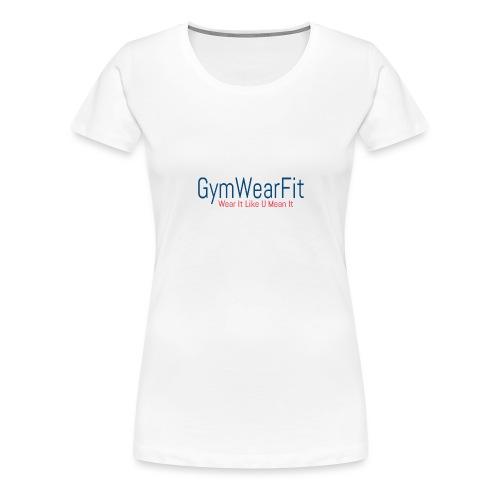 Fitness wear - Naisten premium t-paita