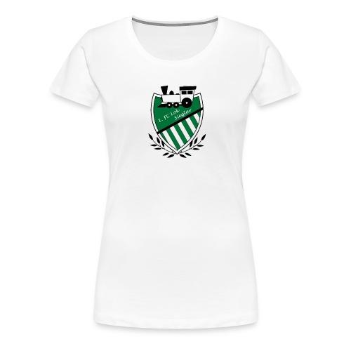 Logo 1 Clean bearbeitet 1 gif - Frauen Premium T-Shirt