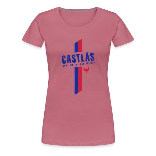 CASTLAS - Maglietta Premium da donna