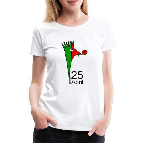 Galoloco - 25 Abril - Women's Premium T-Shirt