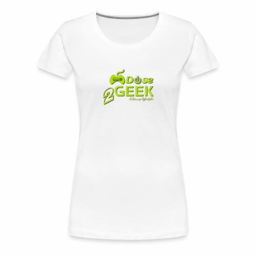 1dose2geek TR - T-shirt Premium Femme