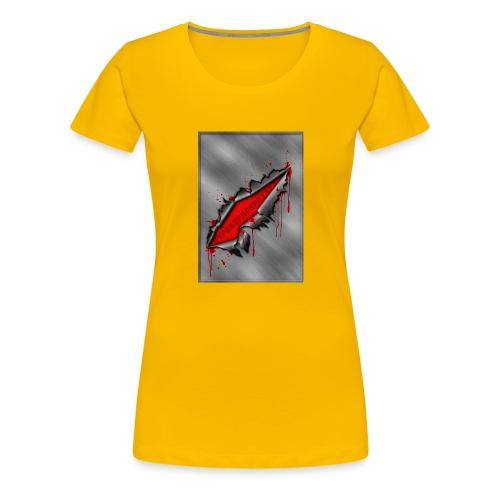 Metal Crack Hyperspace Potato - Women's Premium T-Shirt