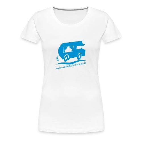 wohnmobilforumoriginalneu - Frauen Premium T-Shirt