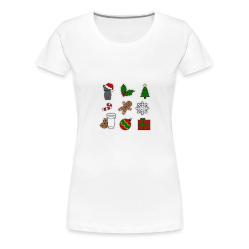 Weihnachts Design, auch als Geschenk für Freunde - Frauen Premium T-Shirt