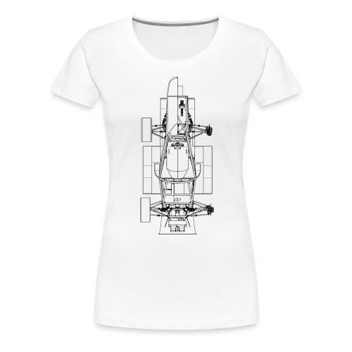 Construction Shirt V2 - Frauen Premium T-Shirt