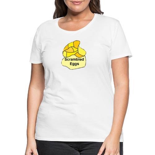 scrambled eggs - Dame premium T-shirt
