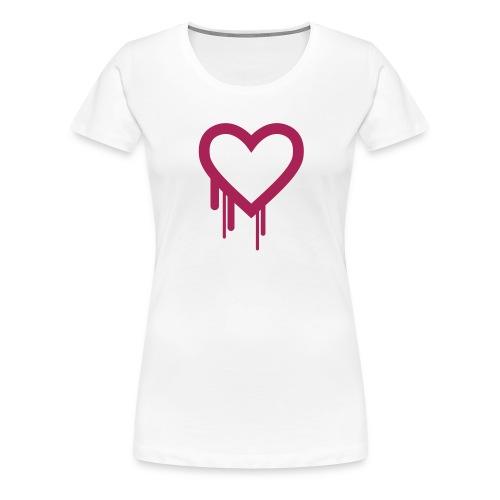Herzblut - Frauen Premium T-Shirt