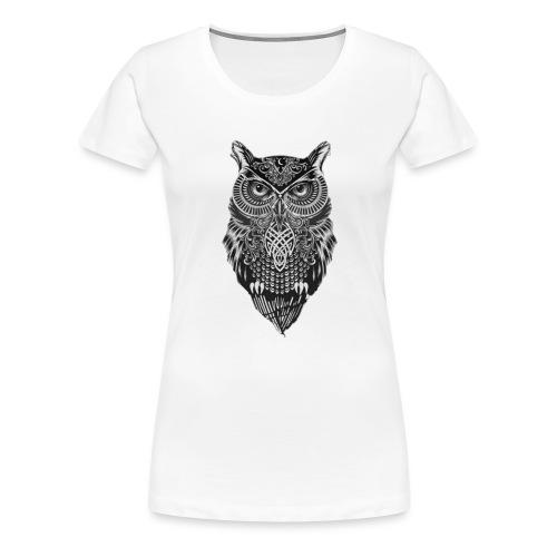 uil_groot - Vrouwen Premium T-shirt