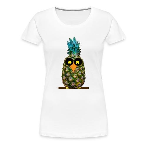 Owl disguised as a pineapple - Maglietta Premium da donna