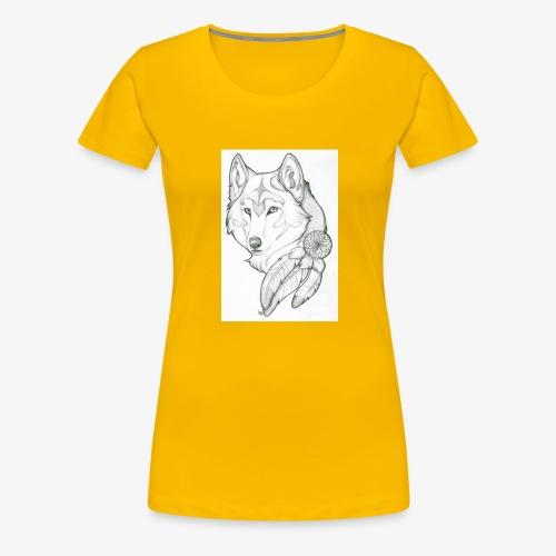 wolf - Vrouwen Premium T-shirt