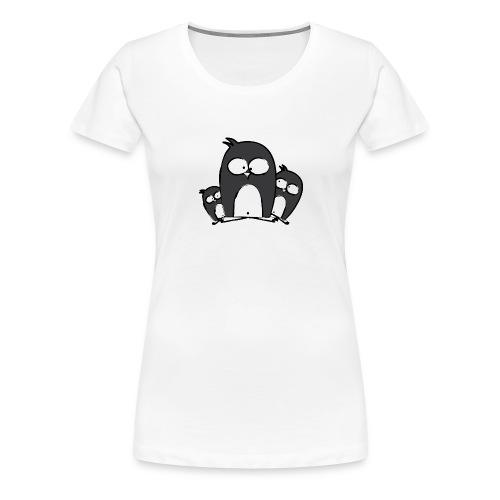 pinguine_png - Frauen Premium T-Shirt