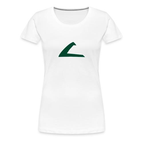 PKMN Cap Logo - Women's Premium T-Shirt
