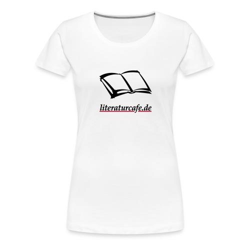Buch literaturcafe.de - Frauen Premium T-Shirt