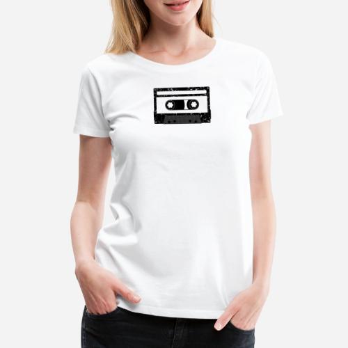 Kassette | Kompaktkassette | Compact Cassette - Frauen Premium T-Shirt