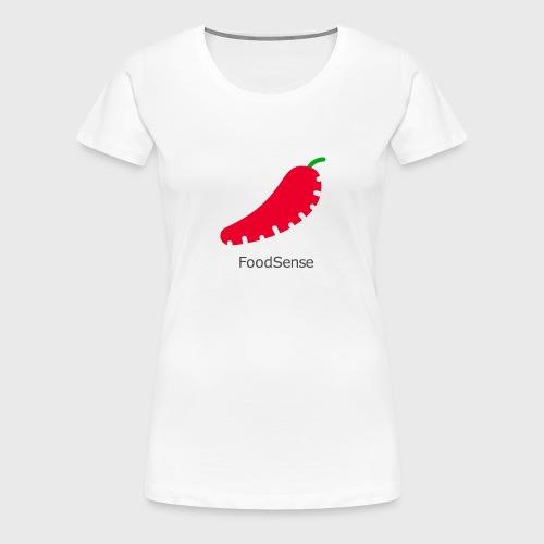 FoodSense L - Women's Premium T-Shirt