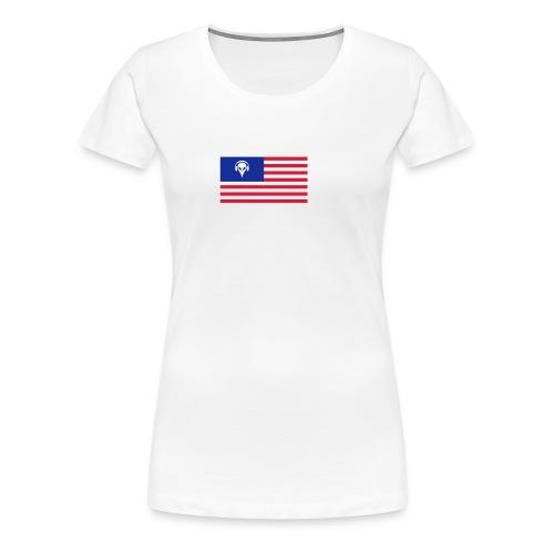 Football T-Shirt USA - Women's Premium T-Shirt