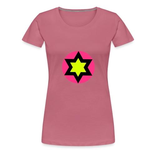 star - Maglietta Premium da donna