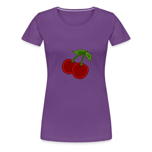 cherry - Koszulka damska Premium