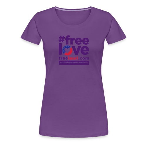 freelovewhite01 - Women's Premium T-Shirt