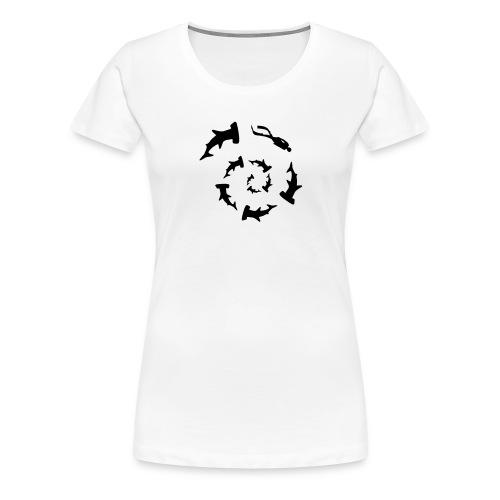 rekiny 2 - Women's Premium T-Shirt