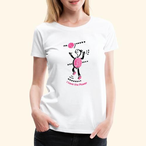 Volleyball Schildkröte - Frauen Premium T-Shirt